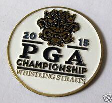 2015 PGA WHISTLING STRAITS Offical WHITE BALL MARKER - NEW