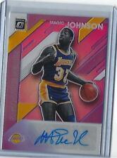 2019-20 Panini Optic Magic Johnson Signature Series Auto #SS-MJN (Lakers) SSP