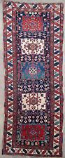 Tapis ancien rug oriental orient tribal ethnique Persan Perse Karajeh 1850