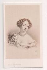 Vintage CDV Marie Angélique de Scorailles Duchess of Fontanges E.Desmaisons Ph.
