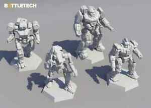 BattleTech: Inner Sphere Heavy Lance Jan 2022 Pre-Order