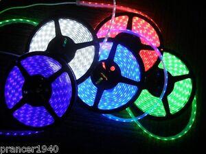 LED AQUARIUM & POND LIGHTS (16.4 Feet) IP67 Waterproof Strips - Purple + more