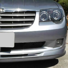 Universal Front Bumper Lip Splitter Chin Spoiler Body Kit Valance Wing CHRYSLER