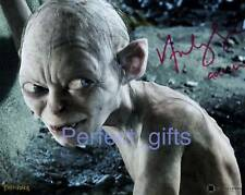 ANDY SERKIS GOLLUM SIGNED PHOTO RE-PRINT LORD RING #124