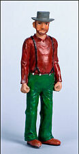 WORKER Large Scale G F 1:20.3 Model Railroad Painted Resin Figure FGGLR03