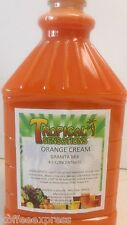 Orange Cream, Frozen Drink Mix Slush Machine Mix Case Of 6