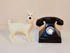 "RARE 2011 Snowy White Dog 3"" McDonald's Action Figure Adventures Of Tintin Tin"