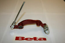 BETA REV 3 TRIALS REAR BRAKE LEVER/PEDAL 2005 - 2008 IN RED