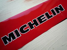 MICHELIN 300mm Black & White Individually cut letters classic car bike stickers