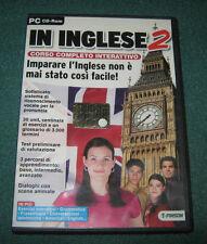 """Informatica/Software/Lingue""""IN INGLESE 2 n°70""""Corso Interattivo/PC-CDrom/Finson"""