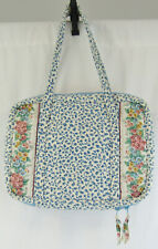 Vera Bradley Blue Delft Retired Zipper Close Laptop Case