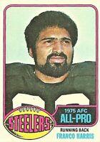 1976 Topps Set Break #100 Franco Harris Pittsburgh Steelers Football Card