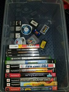 Mixed lot video games lot of ,22  Nintendo DS - PSP, PS3,XBOX