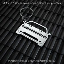 Dodge Challenger SRT8 2012 Stainless Steel Keychain