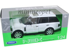 WELLY 22415 2003 RANGE ROVER SUV 1/24 DIECAST MODEL CAR WHITE