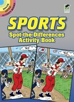 Sports Spot-the-Differences Activity Book (Dover Little Activity Books) by Tony
