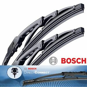Genuine Bosch Direct Connect Wiper Blade Size 26 & 20 Front Left and Right Set