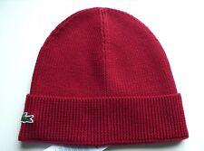 7443d332f Lacoste Men's 100% Wool Beanie | eBay