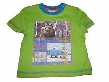 NEU Liegelind tolles T-Shirt Gr. 86 grün mit tollem Print !!