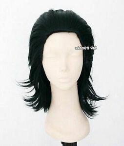 Loki Laufeyson Avengers Thor version. layers cosplay wig with widows peak
