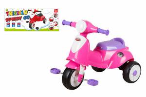 Giocattolo bambina prima infanzia triciclo rosa Speedy Go gioco neonata bimba