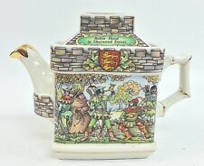 SADLER Teapot Robin Hood in Sherwood Forest & The Sheriff at Nottingham