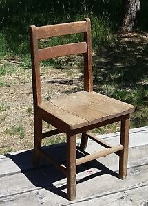 Tell City Co. Child's Chair for Restoration Arts & Crafts Oak