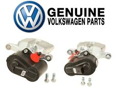 Pair Set of Left and Right Brake Disc Calipers Genuine For Audi Q3 VW CC Passat
