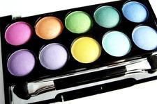 Eyeshadow Palette Beauty UK No2 Soho Rainbow Colour Powder