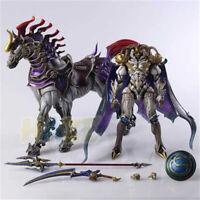 Final Fantasy XIII 13 Play Arts Kai Battle God Odin Figura de acción Juguete