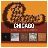 "CHICAGO ""ORIGINAL ALBUM SERIES"" 5 CD NEU"