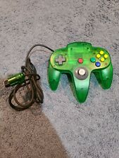 Nintendo 64 N64 Jungle Green Funtastic Video Game Controller OEM TIGHT STICK