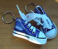 Schlüsselanhänger Partner-Set  Turnschuh Sneaker Leinenschuh Rucksack Accessoire