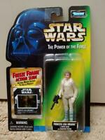 Star Wars The Power Of The Force Princess Leia Organa In Hoth Gear Action Figure