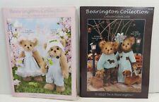 Bearington Bears Set of 2 Catalogs Winter 2008 Spring 2009 Collector Books Retrd