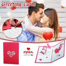 3D Valentines Day Greeting Cards Card ALL MY KISSES