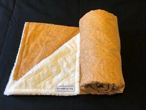 Stunning Cot/pram blanket Handmade by Birralee by ME using Aboriginal fabric