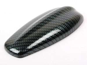 Carbon Look For Jaguar Style Shark Fin Static Aerial Dummy Antenna Universal Fit