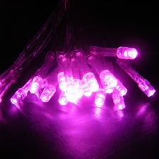 4x 5m Pink LED Fairy Lights Birthday Engagement Wedding Party Venue Decoration