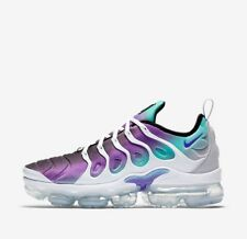 low priced 13ac8 191d3 Nike Air Vapormax Plus Aqua Green Purple White Grape 924453-101 Men s Size 8
