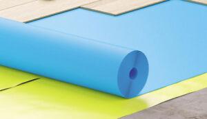 Trittschalldämmung  Fußbodenunterlage EXPERT ROLL 2mm (16,5 m²) Laminat Parkett