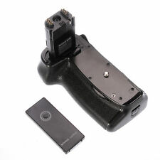 Vertical Battery Grip Holder + IR Remote For Canon 6D Mark II 6D2 BG-E21 F LP-E6