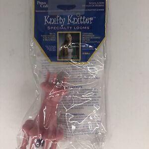 Provo Craft Knifty Knitter Spool Loom Pink Small 21-0154