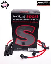 PowerTEC Sport RED 8mm Ignition HT Leads Wires Cables Set Lada Niva 1.6 1.7 4x4