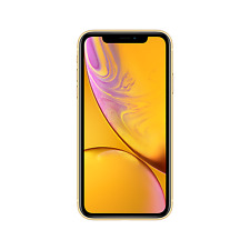 "Grade A3 Apple iPhone XR Yellow 6.1"" 64GB 4G Unlocked & SIM Free A3/MRY72B/A/MV"