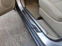 For Mazda CX 30 Accessories Car Door Sill Cover Scuff Plate Protector Sticker 19