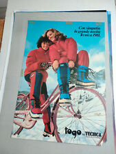 Plakat Tecnica Sport Ski Mode 1981 Original  TOP!