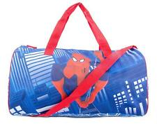 Marvel Spider-man Kids Shoulder Bag Sports Duffel Bag [Blue]