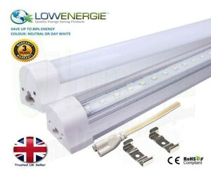 Integrated LED Tube Light T8/T12 Replacement Ceiling Energy Saving Multi Buy