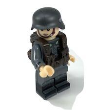 Custom WW2 German Army Soldier Minifigure Military Mini-figure /Helmet Legos Com
